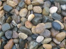 Wholesale Garden Landscaping Unpolished River Pebble Stone Black River Rocks Stone and Small Stones Sale