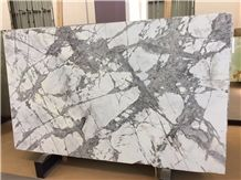 Snow River White Marble Slabs and Tiles, Flashing White Marble Slabs,White Marble Slabs,Luxury White Marble Tiles
