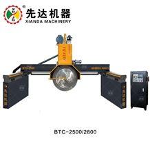 Multi-Blades Block Cutting Machine Hydraulic Granite Marble Plc 4 Column Block Cutter China Xianda Btc-2200/2500/2800/3000