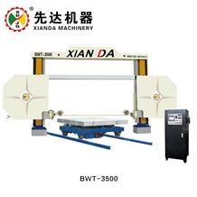 Secondhand Used Cnc Diamond Wire Saw Machines Stone Granite Marble Block Slab Cutting Machines Xianda Bwt-3500