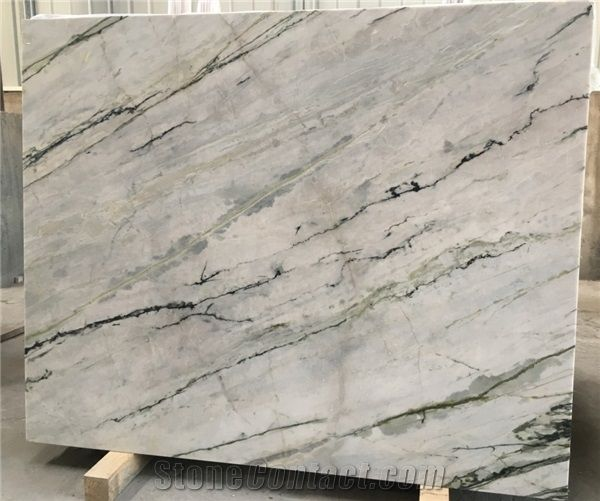 Blue Orchid Marble Pattern Marble Opus Pattern Wall