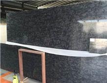 Matrix Black Granite Polished Slab & Tile, Brazil Versace Black Granite Walling & Flooring Matrix Black Granite Polished Slab & Tile,