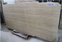Turkish Travertine/Ivory Travertine/ Vein Cut Travertine /Cream Travertine Marble Floor Tiles/Slab and Skirting