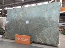 China Polished Bronze Age Granite Tiles & Slabs/Tv Set Wall/Floor Covering/Large Quantity Chinese Green Granite for Project