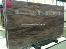 New Polished Red Colinas Quartzite Slabs & Tiles/ Red Quartzite/ Exterior - Interior Wall and Floor Decoration Material