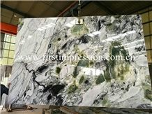 New Polished White Beauty Jade Marble Slabs&Tiles/ White Beauty Mabrle/ Green Jade Natural Stone/ Bookmatck Wall Covering