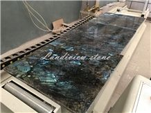 Lemurian Blue Granite Tiles, Labradorite Blue Granite Tiles