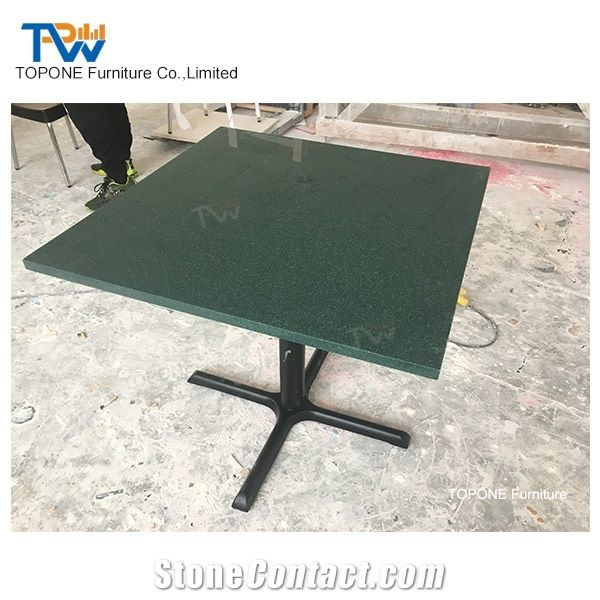Artificial Marble Stone Restaurant Table Tops Square Design - Restaurant marble table tops