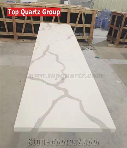 Artificial Calacatta White Counter Tops