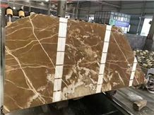 Onice Miele Nuvolato Brown Onyx Translcuent Slabs Highly Glossy Polsihed,Hotel Walling Tiles,Floor Covering Pattern