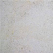 Pierre Auberoche Claire Bianco France White Coral Seashell Stone Honed Tiles, Machine Cutting Slabs for Floor Paving Pattern