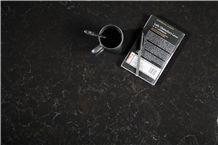 Marble Look Artificial/Engineered Quartz Stone Slabs, Black Quartz with White Veins, Surface, 2cm,3cm Tiles