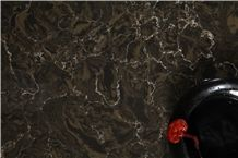 Marble Look Artificial/Engineered Quartz Stone Slabs,Cambria Color, Brown, Black, Gold, 2cm,3cm,Gt9630