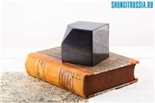 Shungite Cube with Canted Corner Home Decor