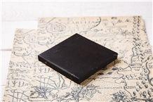 Tile 10*10cm Shungite Natural Stone Glossy