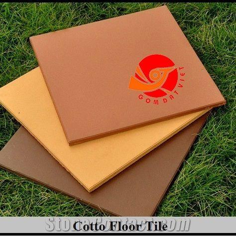 Terracotta Floor Tiles, Non-Slip and Anti-Moss Exterior Clay