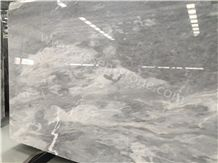 Aether Grey Marble Slabs&Tiles, Cloudy Grey Marble Flooring Tiles, Grey Marble Jumbo Pattern, China Marble Good for Hotel Project/Opus Romano