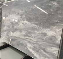 Aether Grey Marble Stone Slabs&Tiles, Aether Gray/China Grey/China Gray/Shay Grey/Shay Gray Marble for Project, Gray Marble Jumbo Pattern, Cut to Size
