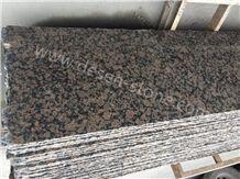 Baltic Brown Granite Slabs&Tiles, Finland Brown/Coffee Diamond Marron Dark Flower/Finland Baltic Brown/Bruno Baltico/Kymi Brown Granite Halfslab&Tiles