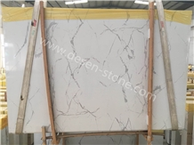Calacatta White Artificial Marble Stone Slabs&Tile
