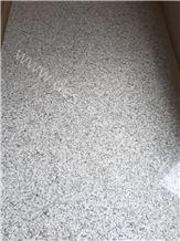 China Bethel White Granite Slabs&Tiles, Cheap United States White Granite, Shandong Sesame White/Snowflake Granite Wall Tile