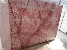 Milan Red Marble Slabs&Tiles, Milano Red/China Red/Red Cream Marble for Stone Project, China Red Agathe/Agate Red Marble Floorig Tiles/Wall Cladding
