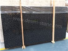 Three Gorges Oracle Marble Slabs&Tiles, China Black Marble, Turtle Venato Marble, Black Polished Slabs&Tiles