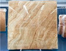Wooden Vein Onyx Slabs&Tiles, Interior or Exterior Decoration Onyx Stone, Floor Tiles, Stone Flooring, Onyx Pattern