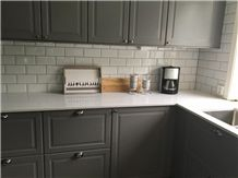 Composite Cabinets Noble Supreme White Kitchen Countertop