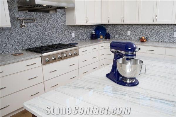 Bianco Macaubas Quartzite Countertops From United States