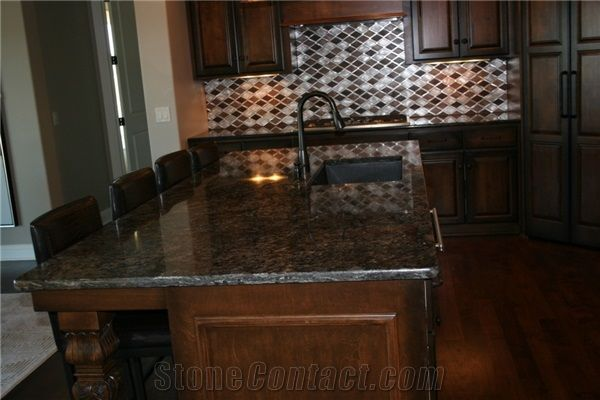 Kitchen Island Counter Top With Cianitos Granite From United
