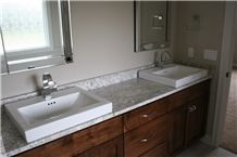Master Bathroom Top with Salinas White Granite