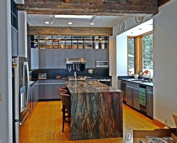 Fusion Quartzite Kitchen Island Countertop From United