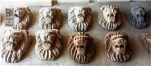 Stone Sculptures Fountains Handicrafts Onix Marble Volcanic