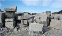 Silver Gra Bohus - Bohus Grey Granite Blocks