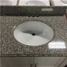 G664 Granite Countertop,Bainbrook Brown Granite Tile/Kitchen Countertop/Bath Vanity, Misty Brown Granite,China Cheap/Popular Red Granite Tops