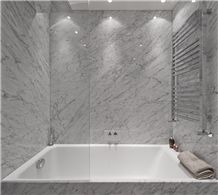Italy Carrara White Marble Bathroom And Bath Top Bianco Calacatta China Manufature Whole Vanity