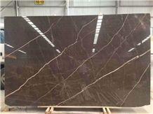 Gris Pulpis, Medium Brown Marble Tiles,Marble Slab
