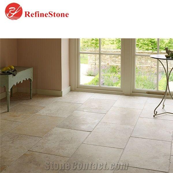 Antique Beige Limestone Pavers Floor
