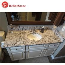 Brazil Bianco Antique Granite Countertops,High Quality Baxi Granite Vanity Tops