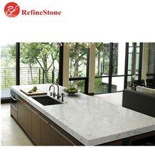 Perlino White Marble Quartz Slabs and Countertops,White Quartz Tops Tiles