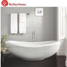 White Marble Bath Tub for Hotel and Bathroom,Natural Stone Bathroom Hot Tub