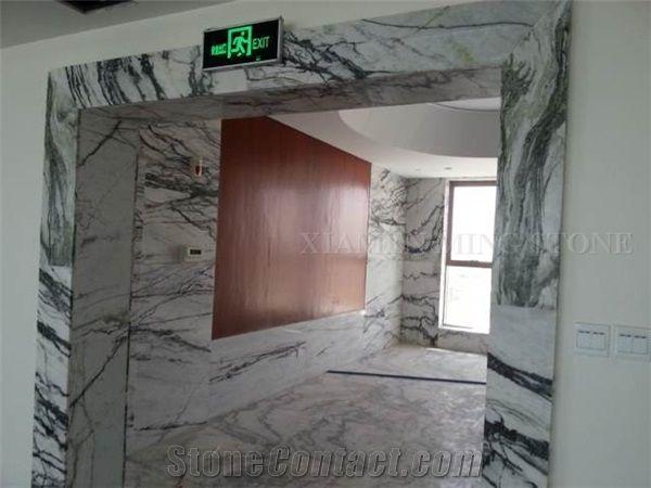 China Green Clivia Marble Interior Window Sills Door