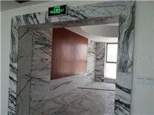 China Green Clivia Marble Interior Window Sills,Door Frames,Green Veins Thresholds,Window Surround,Interior Stones