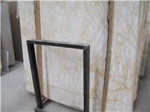 Golden Spider Arachnia Yellow Veins Marble Slabs Polished, Cutting Golden Marble Panel Tiles for Interior Wall Cladding,Floor Covering