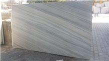Palissandro Bluette Chiaro Italy White Marble Slab,Straight Vein Marble Tiles for Interior Flooring,Wall Panel