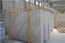 Polished Princeless Crystal Ice White Marble Slab, Tiles Bathroom Walling,Floor Paving French Pattern