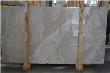 Prince Beige Marble Slabs,Turkey Cream Machine Cutting Panel Tiles for Floor Covering Hotel Paving Material