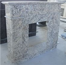 Interior Dectoration Handcarved Natural Stone Sculpture Fireplace/ Marble Fireplace