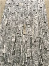 Natural Stone Natural Split Surface Nero Santiago Cultured Stone for Wall Cladding